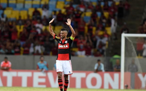 Leo Moura Despedida Flamengo x Nacional (Foto: André Durão)