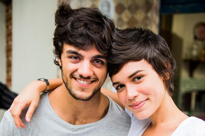 Jonatas e Leila vão começar uma relação cheia de novos sentimentos para os dois (Foto: João Miguel Júnior / Globo)
