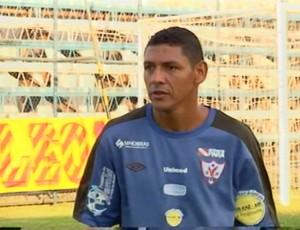 Mocajuba é o lateral-esquerdo titular do Águia de Marabá (Foto: Reprodução/TV Liberal)