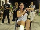 Solange Gomes participa de ensaio técnico de cadeira de rodas