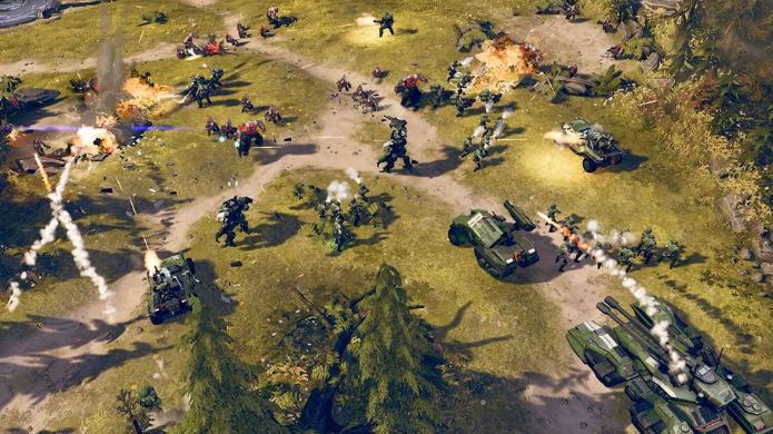 Halo Wars 2 é um raro RTS para consoles (Foto: Divulgação/Microsoft)