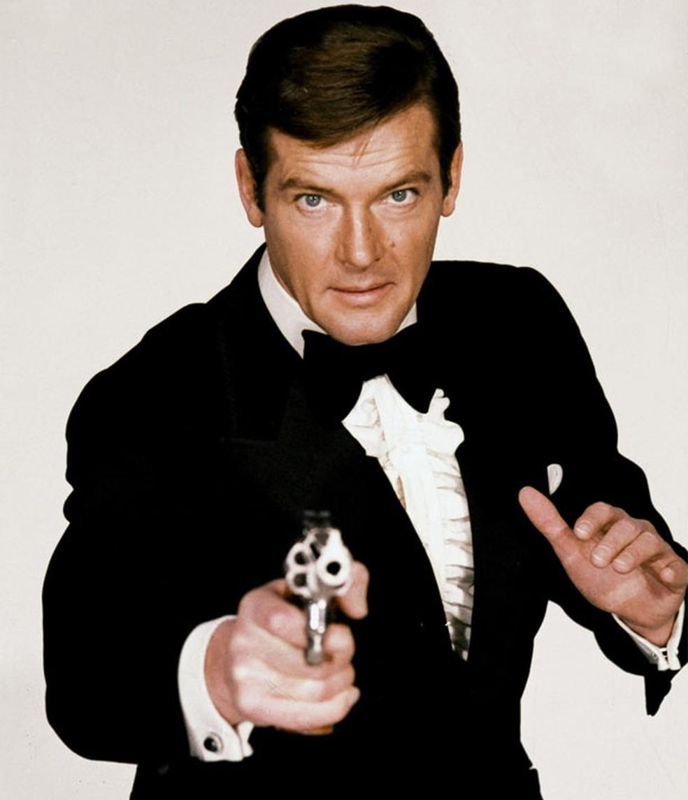 James Bond 007 Roger Moore  (Foto: Divulgação)