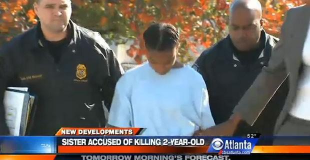 Adolescente vai responder como adulto pela morte da irmã de 2 anos (Foto: Reprodução)