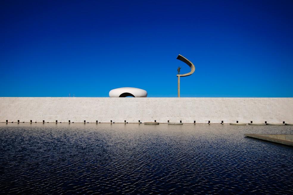 Memorial Juscelino Kubitschek, em Brasília (Foto: Marcelo Brandt/G1)