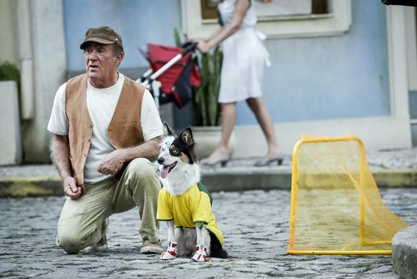 Na história, Didi embarca numa viagem cheia de aventuras com destino a Santiago de Compostela (Foto: Globo)