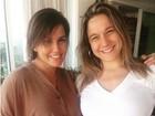 Deborah Secco e Fernanda Gentil posam juntas e exibem barrigões