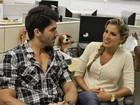 Rodrigão e Adriana comentam o Paredão do 'BBB12' na redação do EGO