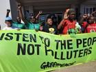 Ambientalistas do Greenpeace são detidos durante a COP 17, diz agência