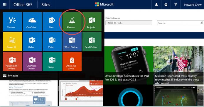 Office 365 Planner pode ajudar a gerenciar trabalho em equipe (Foto: Divulgação/Microsoft)