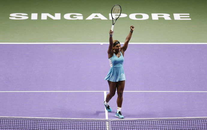 tenis serena williams wta finals (Foto: Reuters)