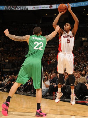 Bruno Caboclo do Toronto Raptors, NBA (Foto: Getty Images)