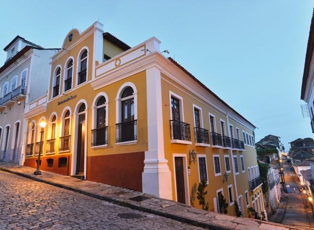 Fachada do Restaurante Escola Senac, que às quintas-feiras serve um bufê nordestino (Foto: Divulgação)