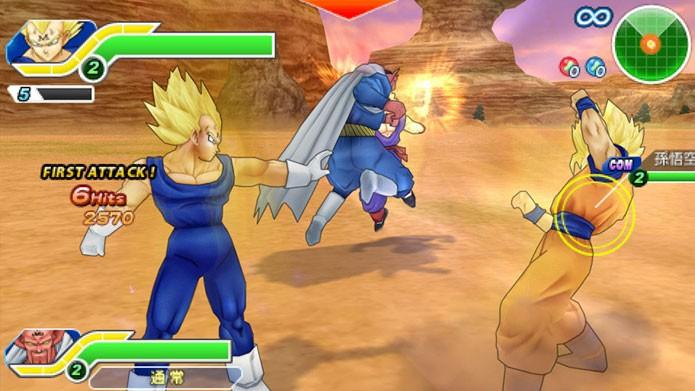 Dragon Ball Tenkaichi Tag Team (Foto: Divulgação)