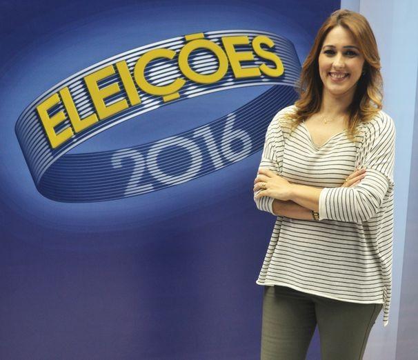 Susane Vidal mediará o debate da TV Sergipe (Foto: Divulgação / TV Sergipe)