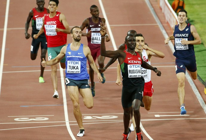 David Rusiha 800m mundial pequim (Foto: Reuters)