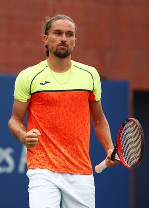 Alexander Dolgopolov no US Open (Foto: CLIVE BRUNSKILL / GETTY IMAGES NORTH AMERICA / AFP)