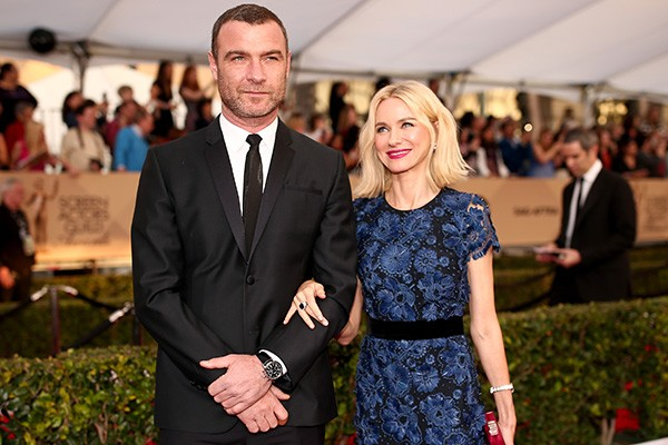 Liev Schreiber e Naomi Watts (Foto: Getty Images)