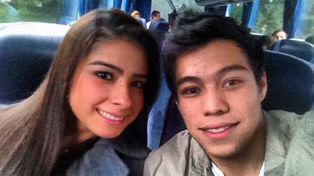 Bruna Leal e Sergio Sasaki  (Foto: Arquivo Pessoal)