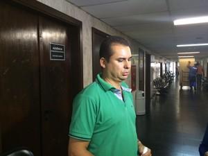 Sargento Alexandre Martins da Silva, PM que atendeu o caso do atropelamento em que Pitanguy era o condutor (Foto: Cristina Boeckel/G1)