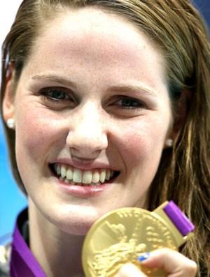 Nadadora Missy Franklin, londres 2012 (Foto: Getty Images)