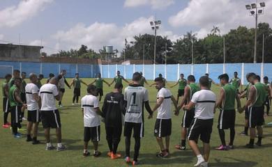 São Raimundo em treino recreativo  (Foto: Divulgação/ São Raimundo F.C.)