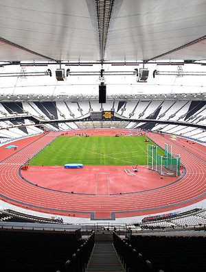 Estádio Olímpico de Londres, na Inglaterra (Foto: Getty Images)