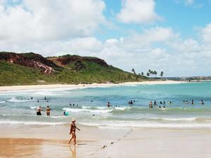 Praia de Coqueirinho na Paraíba (Foto: Inaê Teles/G1)