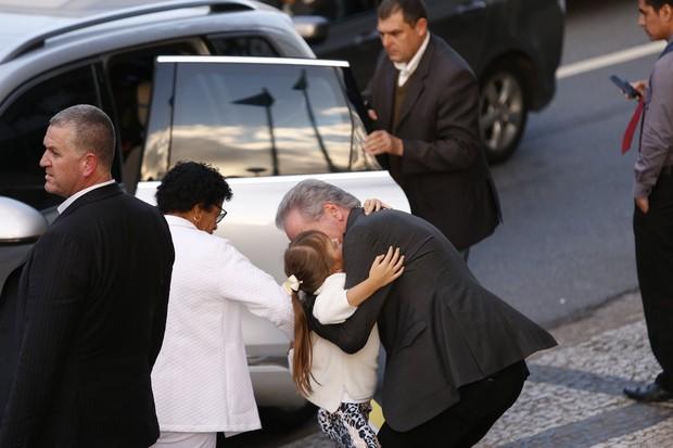 Roberto Justus com a filha, Rafaella (Foto: Renato Vaz / AgNews)