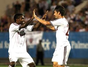 Rhayner e Rafael Sobis (Foto: Nelson Perez / Flickr Fluminense)