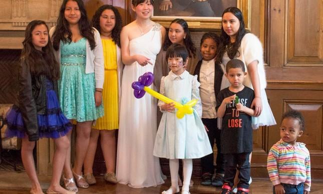 Yuri e seus convidados