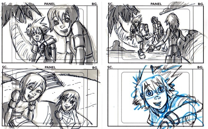 Desenho animado Kingdom Hearts estava nos planos, mas foi cancelado (Foto: Reprodução / KHinsider)
