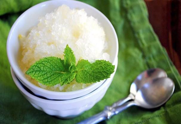 Raspadinha de suco verde (Foto: Reprodução)