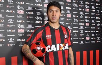 "Atlético-PR confirma Luciano Cabral: ""Espero me adaptar o mais rápido"""