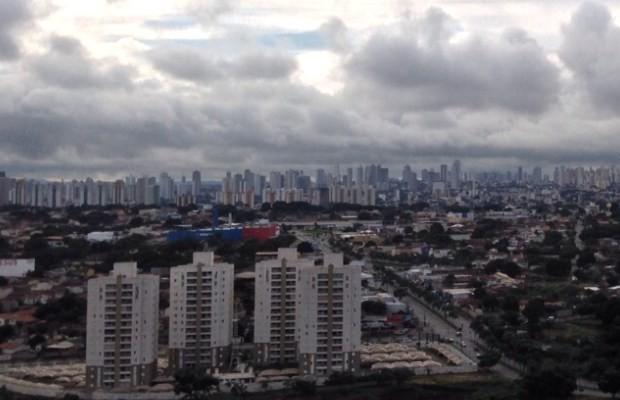 Goiânia tem queda de temperatura nesta semana (Foto: Philipe Laperche/ Arquivo Pessoal)