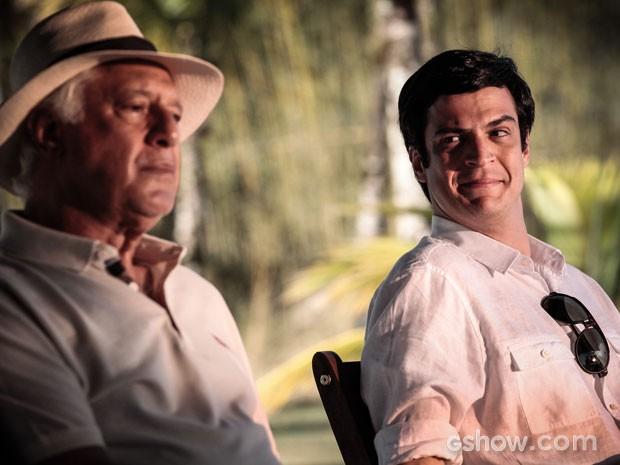 aaaafdcfef Final  César (Antonio Fagundes) declara seu amor por Félix (Mateus ...