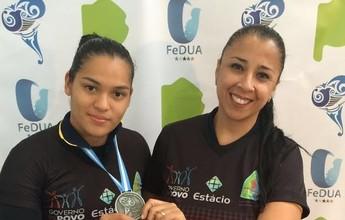 Flávia Cantanhede medalha nos Jogos Universitários Sulamericanos 2016
