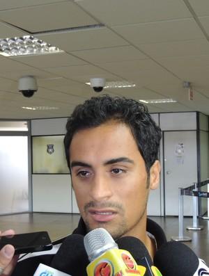 Tchô Figueirense (Foto: Diego Madruga)