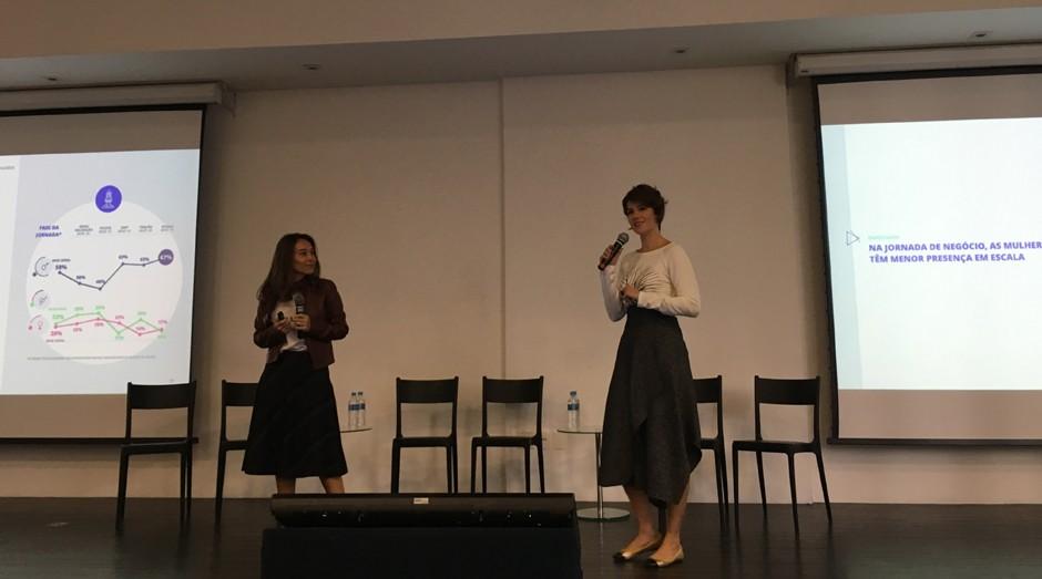 Carolina Aranha e Lívia Hollerbach, cofunfadoras da Pipe.Social (Foto: Caio Patriani)