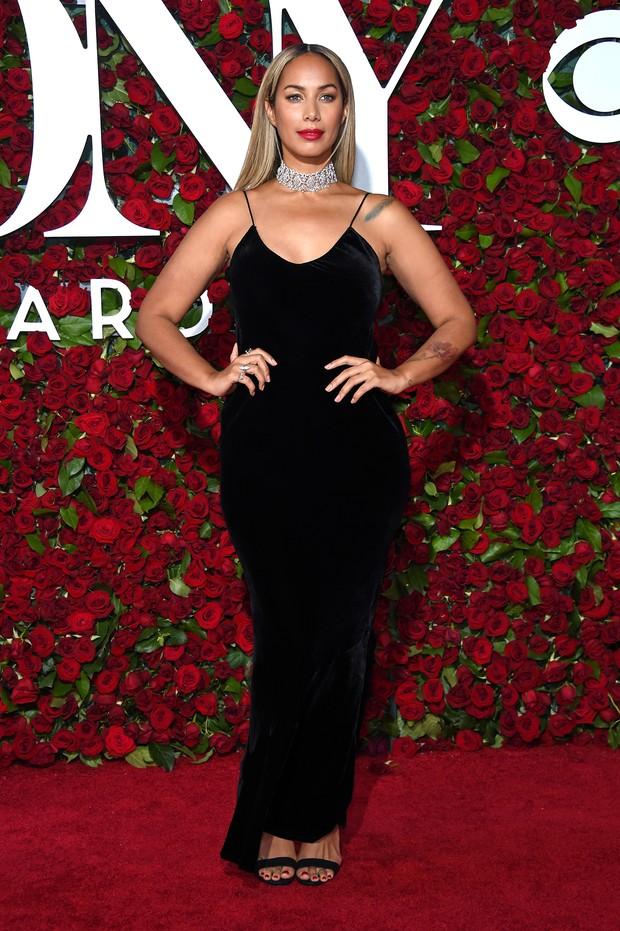 Leona Lewis no Tony Awards (Foto: AFP)