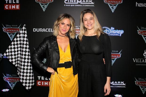 Giovanna Ewbank e Fernanda Gentil (Foto: Thiago Duran/AgNews)