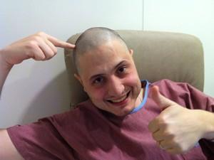 Gabriel Massote está emocionado com a notícia e aguarda o transplante (Foto: Gabriel Massote/Arquivo Pessoal)