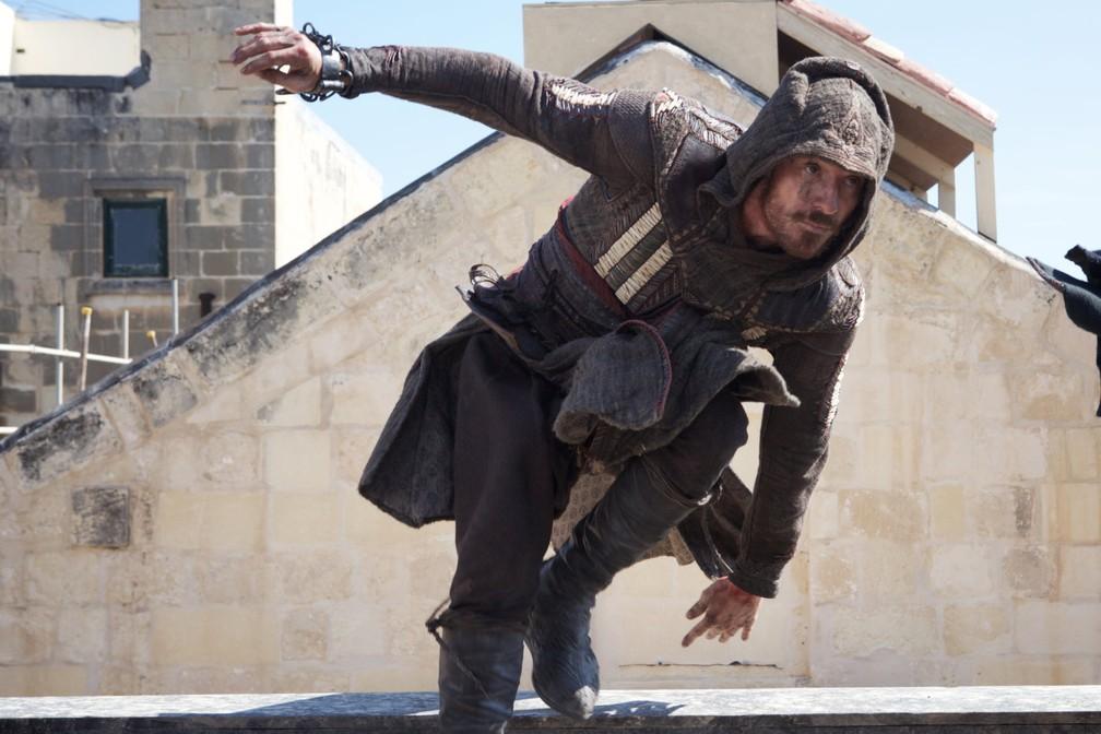 Michael Fassbender em 'Assassin's Creed' (Foto: Divulgação)