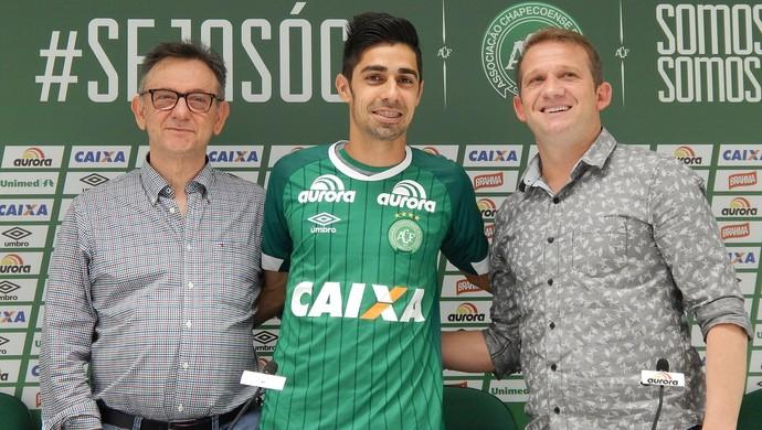 Flavinho Valêncio Chapecoense (Foto: Laion Espíndula)