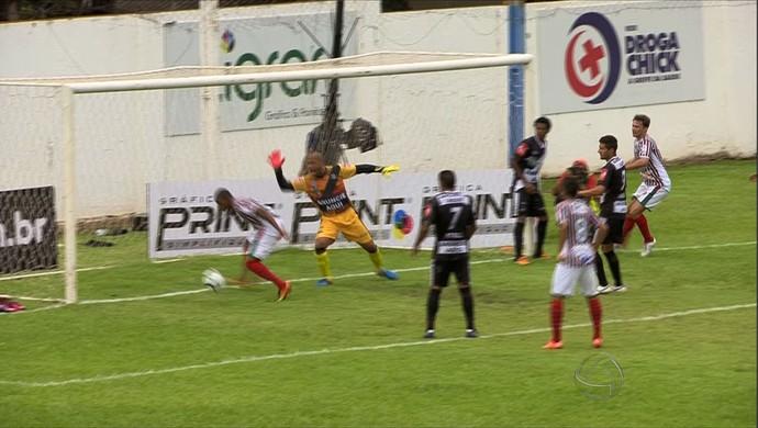 Operário CEOV e Mixto pelo Campeonato Mato-grossense (Foto: Reprodução/TVCA)