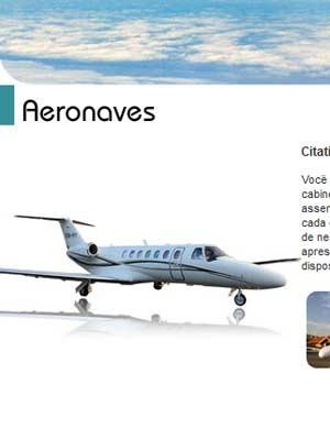 Reprodução da página de Tropic Air com apresentação do modelo (Foto: Reprodução)