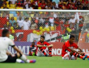 protesto Bom Senso jogo Flamengo x Corinthians (Foto: Pedro Kirilos / Agência O Globo)