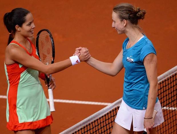 Ana Ivanovic tênis Mona Barthel Stuttgart estreia  (Foto: Getty Images)