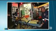 Homem é atingido com cinco tiros enquanto abastecia veículo