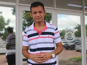 Janiel Guedes, coordenador estadual do IML (Foto: Gustavo Almeida/G1)