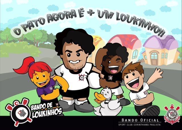 pato corinthians cartoon (Foto: Divulgação)